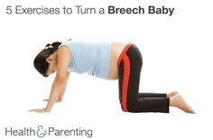 If your baby is in a breech position, there are things you can do to encourage him to move into a head down position. : If your baby is in a breech position, there are things you can do to encourage him to move into a head down position. Turn A Breech Baby, Breech Babies, Baby Workout, Pregnancy Workout, Spinning Babies, Baby Position, Pregnancy Labor, Brooklyn Baby, Baby Head