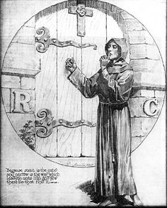 Rosicrucians - Facts and History About the Mysterious Secret Society Was The Brotherhood of The Rose Cross a Threat to Christianity and The Church? It did not take long before people began wondering if this new secret society posed a threat to Christi Occult Symbols, Occult Art, Georgia, Templer, Freemasonry, Stonehenge, Great Artists, Mythology, Tarot