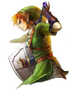 The Legend of Zelda: Twilight Princess / Link / 「ゼルダの伝説まとめ」/「梟」の漫画 [pixiv] The Legend Of Zelda, Breath Of The Wild, Sword Art Online, Ocarina Of Time, Link Twilight Princess, Princesa Zelda, Mundo Dos Games, Link Art, Tp Link