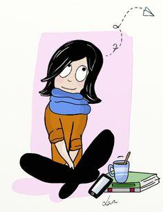Los días que más cosas tengo que hacer... son los días que menos me apetece estar presente...