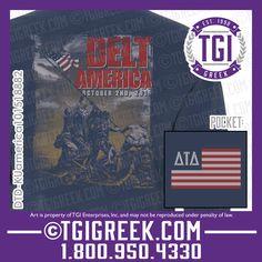 TGI Greek - Delta Tau Delta - Date Party - Comfort Colors - Greek T-shirts  #tgigreek #deltatautdelta #dateparty