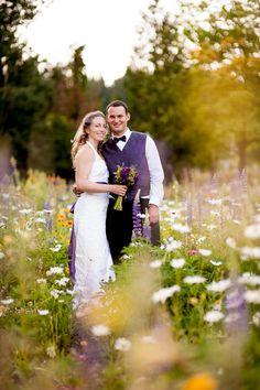 wildflower wedding photographs Sara Vandepas Photography » Portland Documentary Family and Wedding Photography