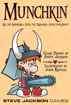 Munchkin ... One of our new favorite Games