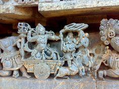 Unknown Ancient Historical Tourist Destinations in India: Halebidu, Beautifully Carved Hoysaleswara Temple in Karnataka
