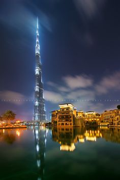The Tower and the Old Town  Burj Khalifa