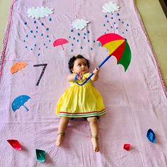 Monthly Baby Photos, Newborn Baby Photos, Baby Girl Photos, Cute Baby Pictures, Mother Baby Photography, Baby Shower Photography, Newborn Baby Photography, 6 Month Baby Picture Ideas, Monsoon