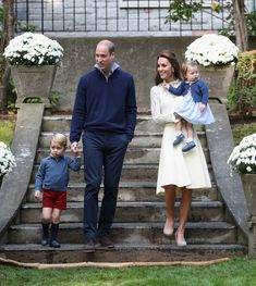 Catherine, Duchess of Cambridge, Princess Charlotte of Cambridge, Prince George of Cambridge and Prince William, Duke of Cambridge arrive for a children's party for Military families during the Royal Tour of Canada on September 29, 2016 in Carcross, Canada. Prince William, Duke of Cambridge, Catherine, Duchess of Cambridge, Prince George and Princess Charlotte are visiting Canada as part of an eight day visit to the country taking in areas such as Bella Bella, Whitehorse and Kelowna