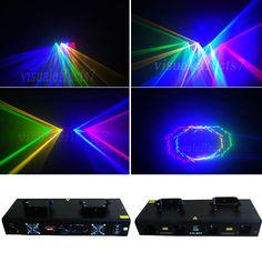 4 lens 800mw RGYB DMX Sound control dj disco laser light stage lighting show equipment #Affiliate