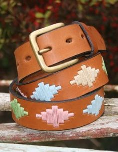 Lily Argentinian polo belt