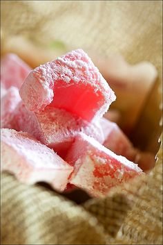 Turkish Delight- I have no idea if I would ever even try this, but since watching The Lion the Witch and the Wardrobe, I feel like I should.