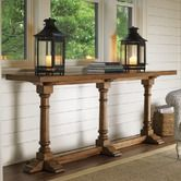 Found it at Wayfair - Twilight Bay Veronica Console Table in Distressed Warm Saddle Brown