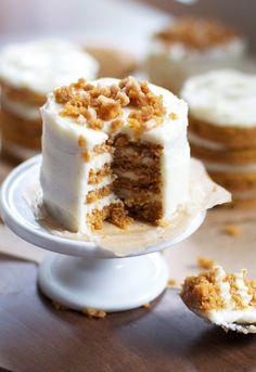 Gâteaux de couches Mini citrouille