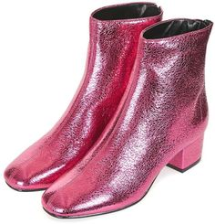 Stand out with these cool ankle boots.
