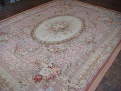 Aubusson Carpet ( 506 ) - Rare and Decorative Carpets, Rugs and Tapestries at C. John.