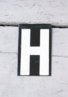 "Lowercase Metal Wall Letters Ready To Shiplowercase Metal Letter ""h"" On Stand  Metals Metal"