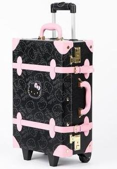 Hello Kitty Vintage Suitcase  Black in Bags Travel + Accessories Luggage +  Tags at Sanrio 8908937e89