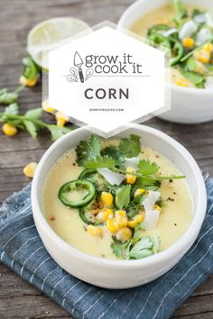 Sweet Corn & Coconut Milk Chowder