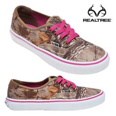 Realtree Xtra camo & pink SKECHERS Women's & girls #Realtreecamo #Realtreeshoes