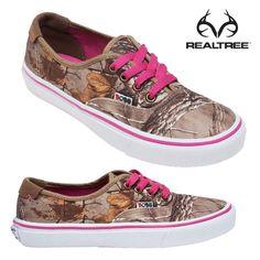 Realtree Camo Vans Shoes