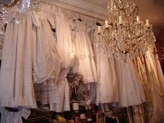 Antique christening gowns in Joanna's