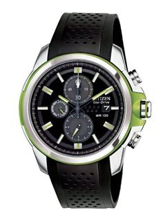 Men's Wrist Watches - Citizen Mens CA042708E Drive from Citizen EcoDrive AR 20 Chronograph Watch * Click on the image for additional details.
