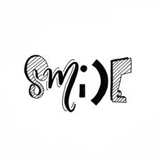 Keep smiling  #handlettering #smile