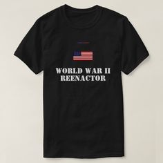 W.W. II   REENACTOR T-SHIRT