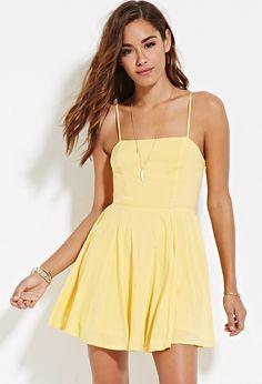 Cutout-Back Cami Dress | Forever 21 - 2000183130
