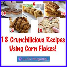 Cookin' With Coupons! Make these great recipes using Corn Flakes and use easy to find coupons!