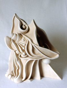 Austen Pinkerton 'Screaming Head' | Sculpture Ceramic Artwork | Landscape Art For Sale