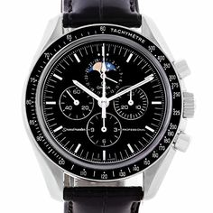 Men's Certified Pre-Owned Watches - Omega Speedmaster automaticselfwind mens Watch 38765031 Certified Preowned *** You can get more details by clicking on the image. (This is an Amazon affiliate link)