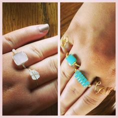 DIY Wire Rings By JDietzel La Mode Cest La Vie Pinterest - Cute diy wire rings for middle phalanges