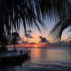 Key Largo sunset. Photo courtesy of getlostwithjackie on Instagram.