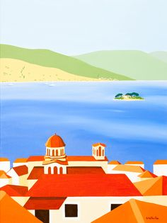 Wedding Island, Poros by Shirley Netherton