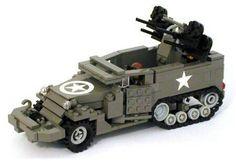 Lego WW2 half track