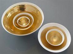 la porcellana, l'argento e l'oro del Studio Potomak