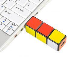 Un mini Rubik's Cube pour une clé USB