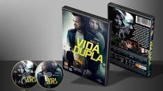 Vida Dupla - Capa | VITRINE - Galeria De Capas - Designer Covers Custom | Capas & Labels Customizados