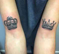 97 Amazing Best King and Queen Crown Tattoo, Tattoos King Crown Tattoos Excellent Crowns Tattoos Collection, 54 Best King & Queen Crown Tattoo Images In 30 King and Queen Tattoos, Queen Tattoo are Ly for A Queen Like You. Crown Neck Tattoo, Queen Crown Tattoo, Small Crown Tattoo, Crown Tattoo Design, Tattoo Neck, Small Tattoos, Sleeve Tattoos, Crown Tattoos For Women, Chest Tattoos For Women