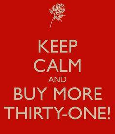 Buy more Thirty-One!  www.mythirtyone.com/tinahulse