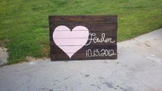 pallet made for Siissys wedding;-)