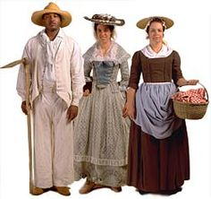 Colonial Social Classes from Colonial Williamsburg
