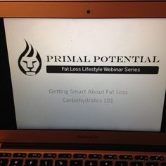 Had a blast tonight! Did you miss the webinar? No big deal, i recorded it and the link is up on the PrimalPotentialFatLoss Facebook page. Check it out!! #weightloss #fatlossfood #carbs #paleo #primal #cleaneating #nutrition #fitness #health #extremeweightloss