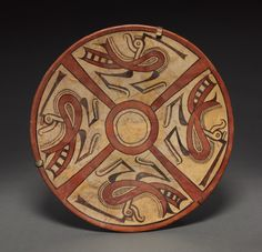 Panama, Cocle, pottery, Diameter: w. 34.40 cm (13 1/2 inches). Gift of John Wise 1952.453
