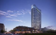 RTKL Gets to Design a 28-story Tower in Indianapolis | Image courtesy of RTKL | Bustler