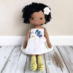 African American Doll by SpunCandy
