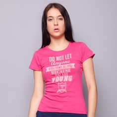 Do Not Let Anyone Pink Tee