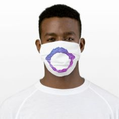 Cloth Face Mask OUROBOROS II blue-purple Ancient Symbols, Sensitive Skin, Masks, Future, Purple, Face, Clothes, Outfits, Future Tense