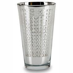 Impulse! Arabesque Silver Highball Glass (Set of 4)