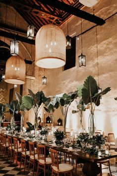 A Romantic Destination Wedding in Historic Cartagena, Colombia - Romantic weddings Wedding Designs, Wedding Styles, Boho Wedding, Dream Wedding, Exotic Wedding, Indoor Wedding, Destination Wedding Decor, Wedding Flowers, Wedding Decorations